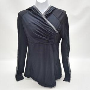 Lululemon Athletica Black w/Gray Pullover Hoodie